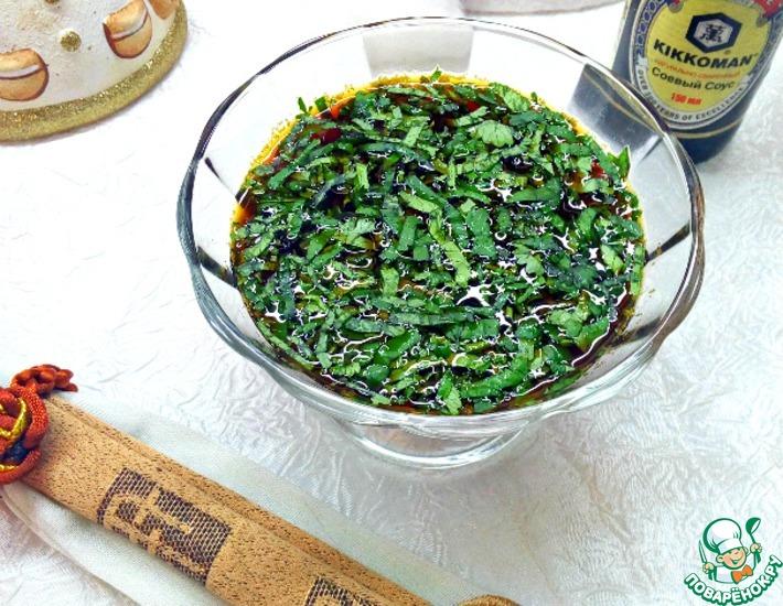 Рецепт: Японский соус Понзу