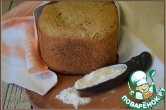 Рецепт: Ржаной хлеб быстрый
