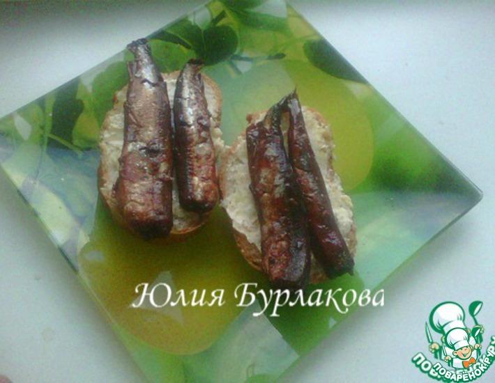 Рецепт: Домашние шпроты из мойвы