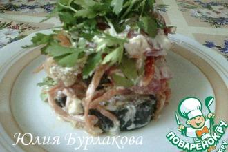 Рецепт: Салат Баклажановый рай