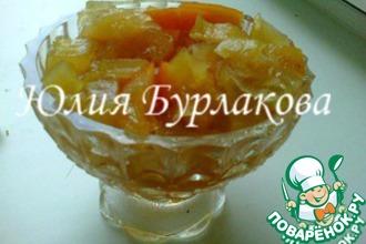 Рецепт: Янтарное варенье из кабачков