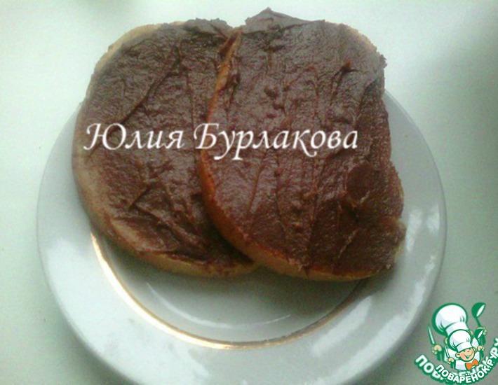 Рецепт: Шоколадная паста