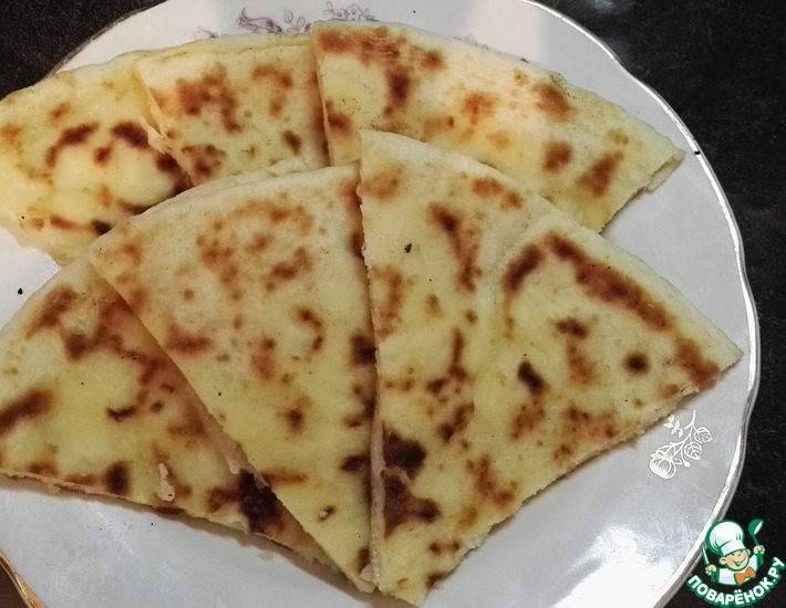 Рецепт: Осетинские хачапури