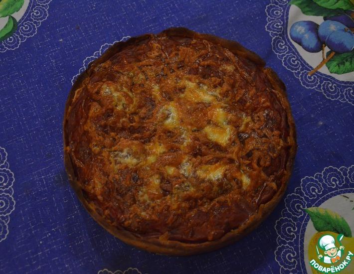 Рецепт: Глубокая пицца по-чикагски