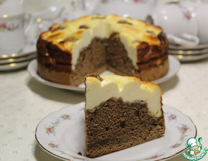 Рецепт: Творожно-кофейный пирог Гармония
