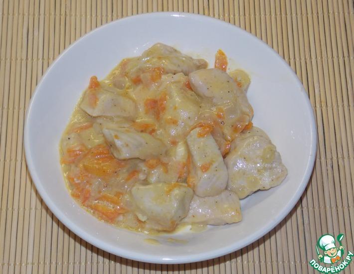 Рецепт: Филе куриное Вкусное