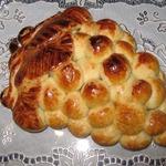 Пирог Виноградная гроздь из хрущевского теста