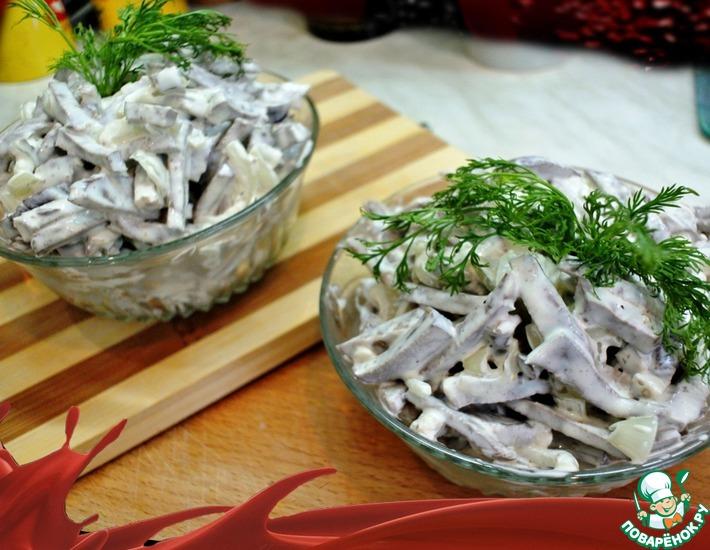 салат сердце рецепт с фото