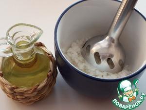 Вегетарианский рисовый майонез – кулинарный рецепт