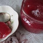 Конфитюр-желе из красной смородины