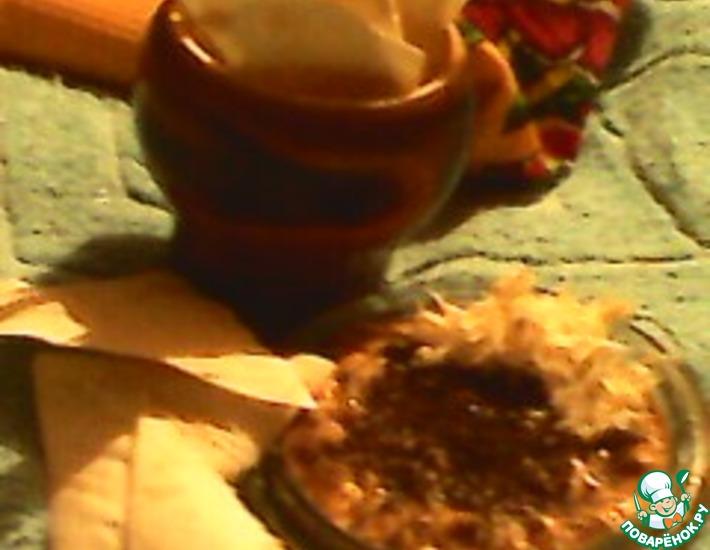 Рецепт: Закуска Хрустики с намазкой из хамсы