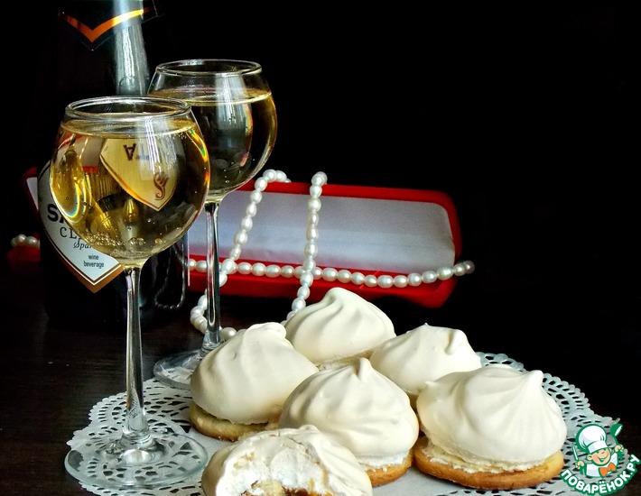 Рецепт: Печенье с конфетами Тофиффи