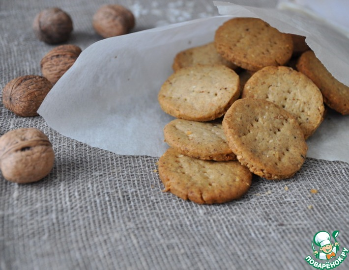 Хрустящее ароматное печенье