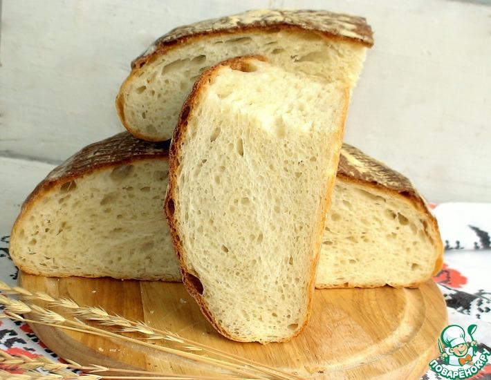 Рецепт: Пшенично-творожный хлеб