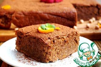 Рецепт: Шоколадный пирог из нута