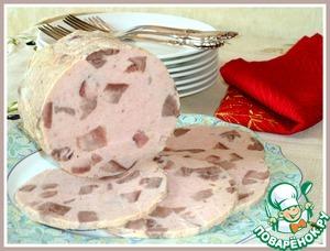 Chicken ham tongue