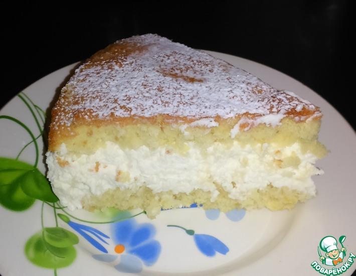 Рецепт: Торт Творожное лакомство