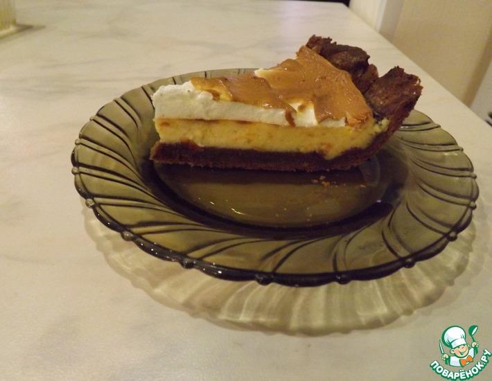 Рецепт: Трехслойный творожный пирог