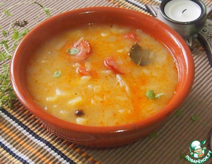 Рецепт: Старочешский суп с капустой