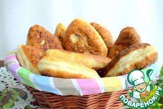 Рецепт: Общепитовские жареные сдобные пирожки