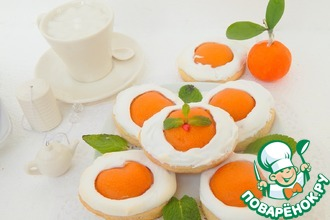 Рецепт: Печенье Глазунья