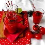 Вишнево-томатный гаспачо