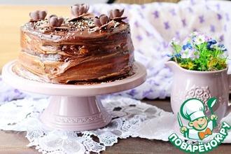Рецепт: Шоколадный торт со свеклой
