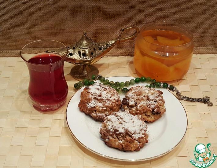 Рецепт: Печенье овсяное дивное