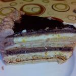 Торт Шоколад и кофе с лимоном