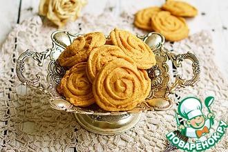 Рецепт: Печенье Роза