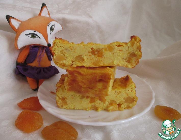 Рецепт: Творожная запеканка Лисий хвост