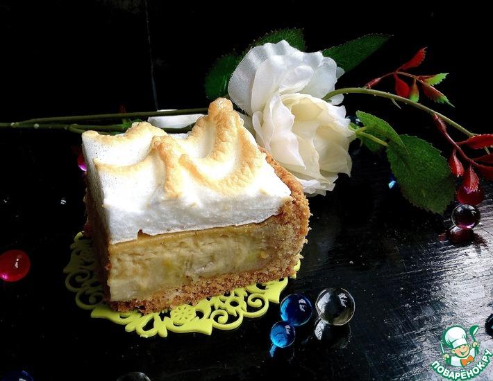 Рецепт: Банановый пирог Нежность