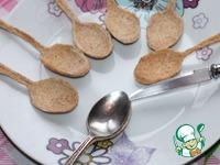 Хрустящие чайные ложки с кремом ингредиенты