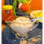 Острый гречневый соус к жареной картошке