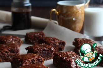 Рецепт: Шоколадно-кокосовые батончики