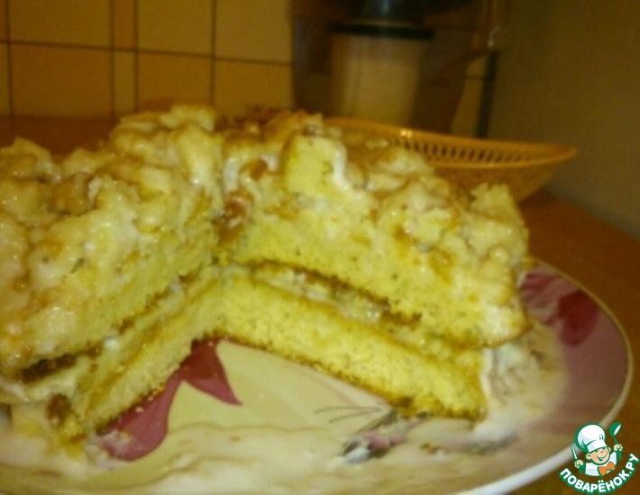 Рецепт: Простой банановый торт