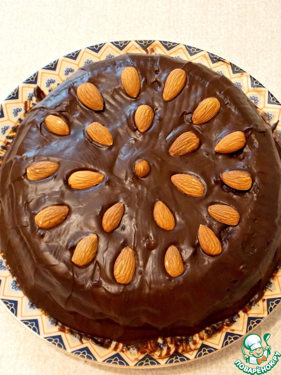 Необычный шоколадный торт