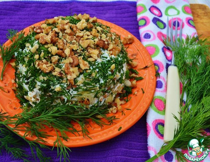 Рецепт: Картофельный салат с печенью