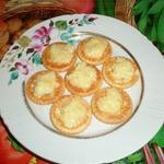 Лимонный десерт Холмики