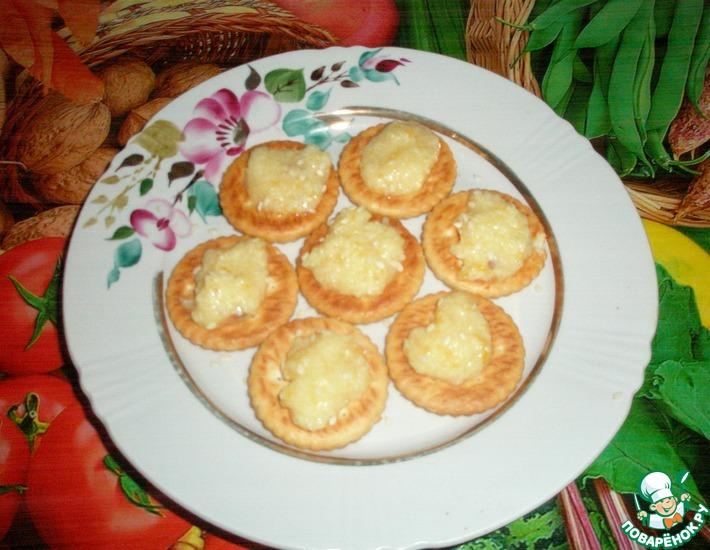Рецепт: Лимонный десерт Холмики