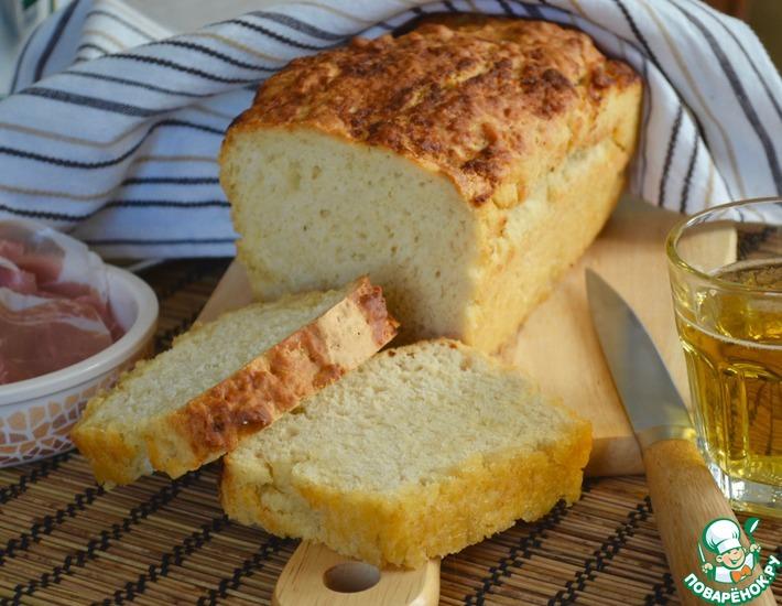 Рецепт: Пивной хлеб на сливочном масле