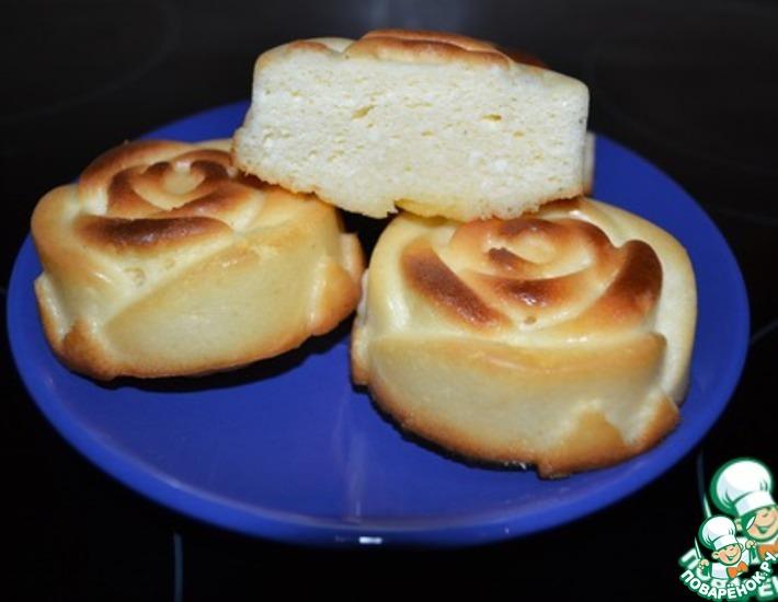Рецепт: Воздушные сырники в духовке