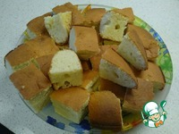 Пирожное Нежный кокосик ингредиенты