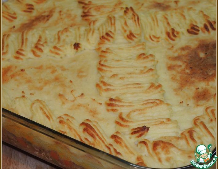 Рецепт: Ирландская картофельная запеканка с мясом