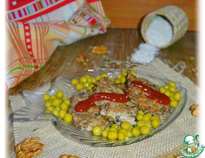 Рецепт: Котлеты из рыбных консервов и риса