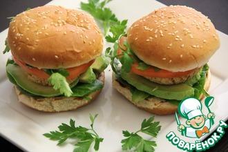 Рецепт: Вегетарианский бургер