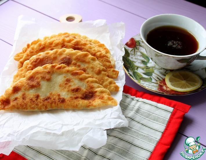 Рецепт: Чебуреки с диким рисом
