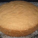 Брошеный бисквит