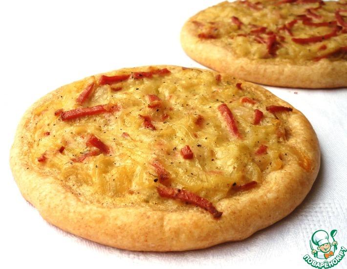Рецепт: Швабский луковый пирог