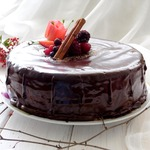 Бисквитный маковый торт
